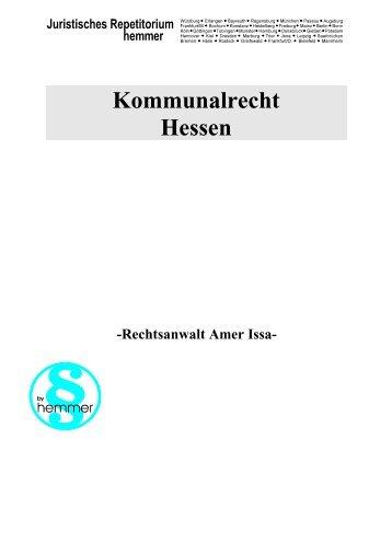 KommR - hemmer repetitorium