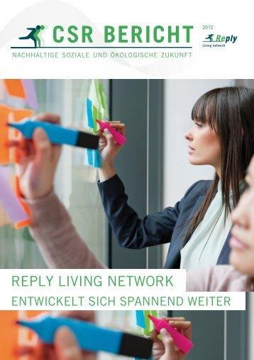 CSR BERICHT - Reply