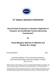 Are Smallholder Farmers Becoming Commerci - Repoa