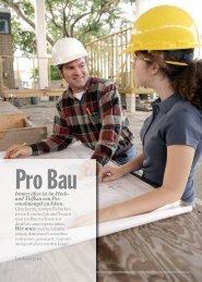 Seite 20-23: Ausbildung Bau - Report