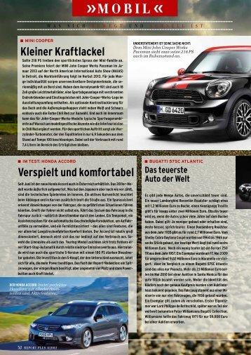 Seite 32-33: Mobil - Report
