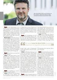 Seite 12-13: Interview mit Wohnbaustadtrat Michael Ludwig - Report