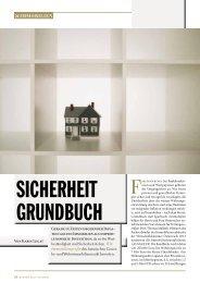 Seite 66-70: Immobilien, Interview mit Friedrich Wachernig - Report