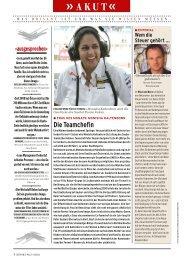 Seite 4-9: Akut, Nachricht aus Brüssel, E - Report.at