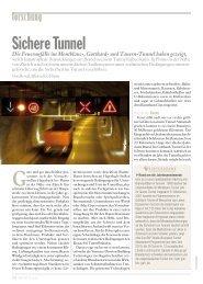 Seite 36-37: Forschung - Tunnel - Report