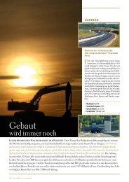 Seite 50-53: Gebaut wird immer - Report