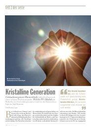 Seite 30-33: Photovoltaik - Report