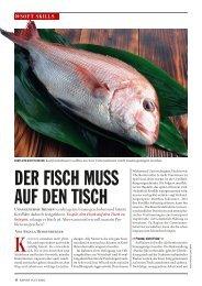 DER FISCH MUSS AUF DEN TISCH - Report