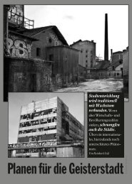 Seite 26-29: Stadtplanung - Report