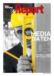 Mediadaten Bau & Immobilien Report 2014
