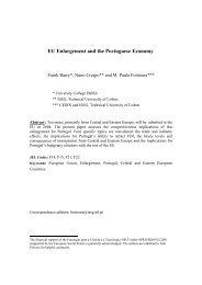 EU Enlargement and the Portuguese Economy - UTL Repository