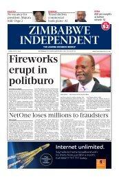 Zimbabwe independent 5 June 2014