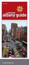 albany guide - Downtown Albany Business Improvement District