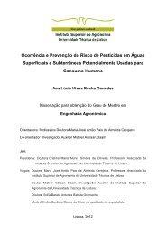 Ocorrência e Prevenção do Risco de Pesticidas em Águas ...
