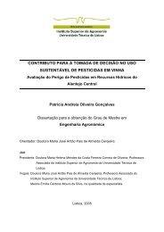 contributo para a tomada de decisão no uso sustentável de ...