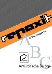 Antistatische Beläge - Repoxit AG