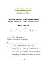 Avaliação das propriedades gelificantes e emulsionantes de ...