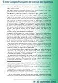 Le potentiel d'adaptation et de résistance au stress des ... - Afscet - Page 2