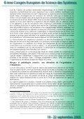 Le potentiel d'adaptation et de résistance au stress des ... - Afscet - Page 6