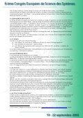 Projet culturel et touristique europeen transfrontalier - Afscet - Page 5