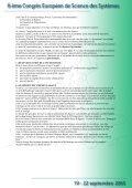Projet culturel et touristique europeen transfrontalier - Afscet - Page 6