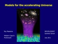 Lecture 1: Theoretical models for the accelerating universe - RESCEU
