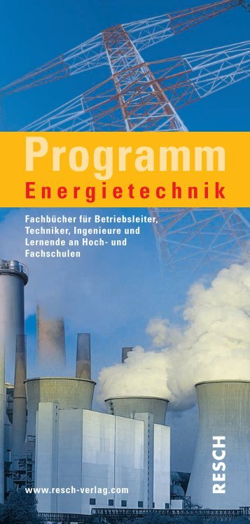 Energie / Technik - Resch-Verlag