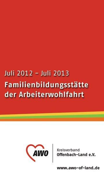 Familienbildungsstätte der Arbeiterwohlfahrt - Kreisverband