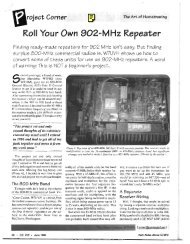 The Repeater Builder's Technical Information Page