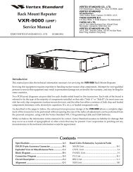 VXR-9000 (UHF) - The Repeater Builder's Technical Information Page