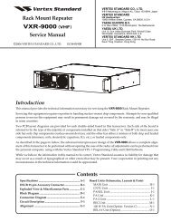 VXR-9000 (VHF) - The Repeater Builder's Technical Information Page