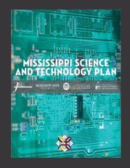 Mississippi Science and Technology Plan - Research at The ...