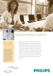 Contamination Control - Philips Research