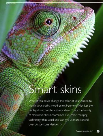 Smart skins - Philips Research