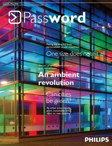 An ambient revolution - Philips Research