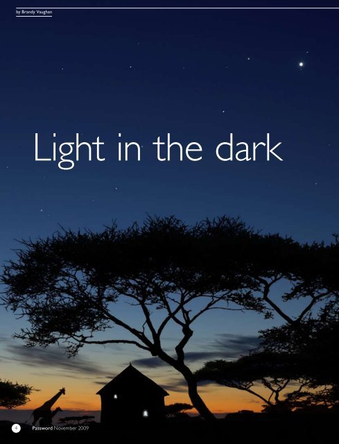 Light in the dark - Philips Research