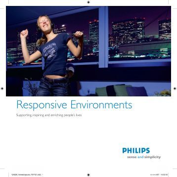 Responsive Environments - Philips Research