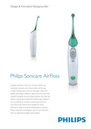 + Design & Innovation backgrounder Philips ... - Philips Research