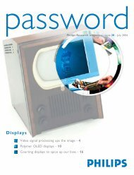 Password 20_090704 - Philips Research