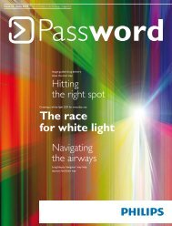 + Password Issue 35 - June 2009 - Philips Research