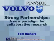 Strong Partnerships: A new paradigm for collaborative research