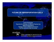 Future of Transportation Fuels