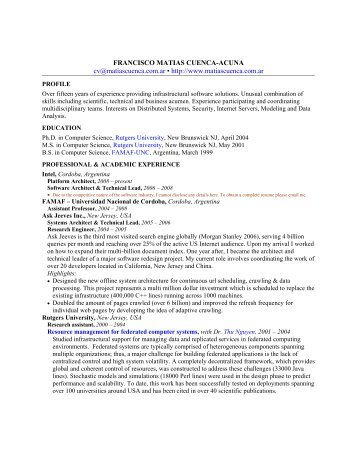 Resume v4 (anonymous for WWW)