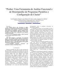"""""""Prober: Uma Ferramenta de Análise Funcional e de Desempenho ..."""