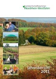 Jahresbericht - Landwirtschaftskammer Nordrhein-Westfalen