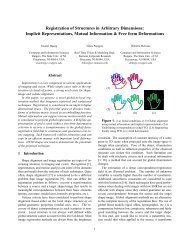 Registration of Structures in Arbitrary Dimensions: Implicit ...