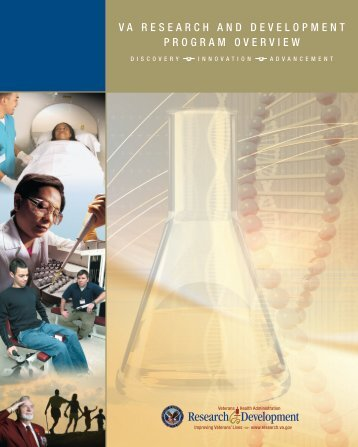 VA Research and Development Program Overview - VHA Office of ...