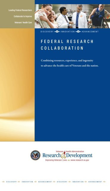 Federal Research Collaboration Brochure - VHA Office of