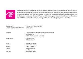 Programmheft 2012 als PDF - Katholische Familienbildungsstätte ...