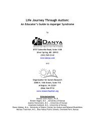 Life Journey Through Autism: An Educator's Guide to Asperger ...